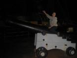 Having fun on Brig Amity's Cannon
