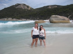 Me and Sarah on Little Beach