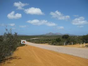 Cape Le Grande's roads