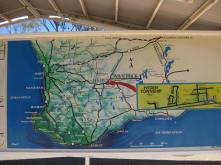 A map of Hyden in context of the SW