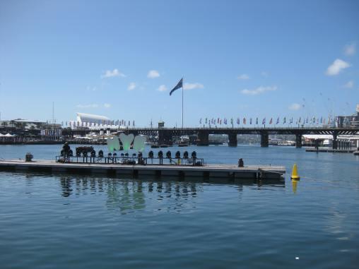 NYE fireworks in Darling Harbour