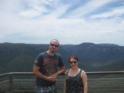 Me and Iain at the Blue Mountains