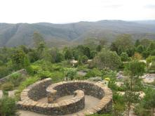 The view from the Blue Mountain Botanic Gardens