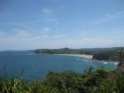 The view from North Bilgola Lookout