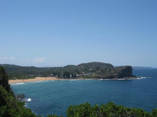 from North Bilgola Lookout