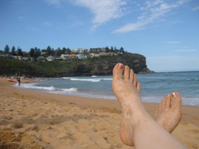 Bilgola Feet