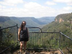 Me at Fitzroy Falls