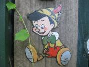 Cartoons in the secret garden