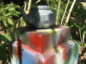 Secret garden teapots