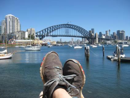 Harbour Bridge feet