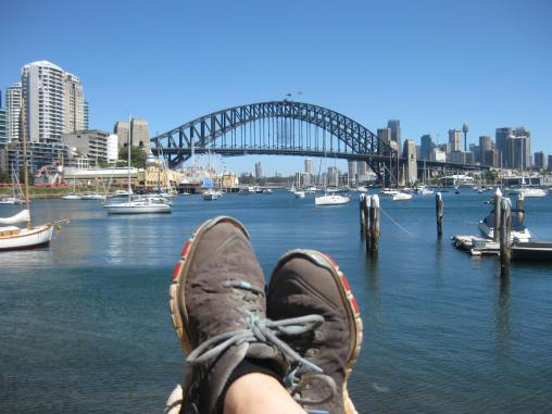 Harbour Bridge feet