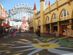 Harbour Bridge from Luna Park