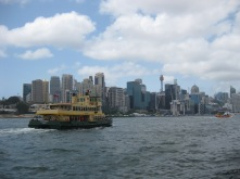 The view from Balmain East