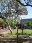 Directions in Alice Springs