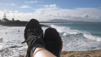 South West Rocks feet