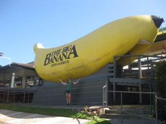 Me at Australia's Biggest Banana