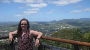 Me at Bruxton Lookout