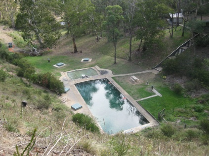 Yarrangobilly's thermal pool