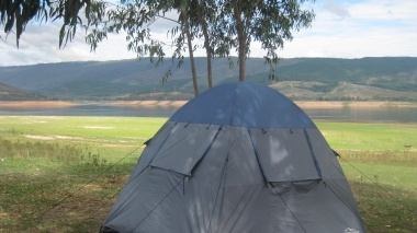 Beautiful view tents...