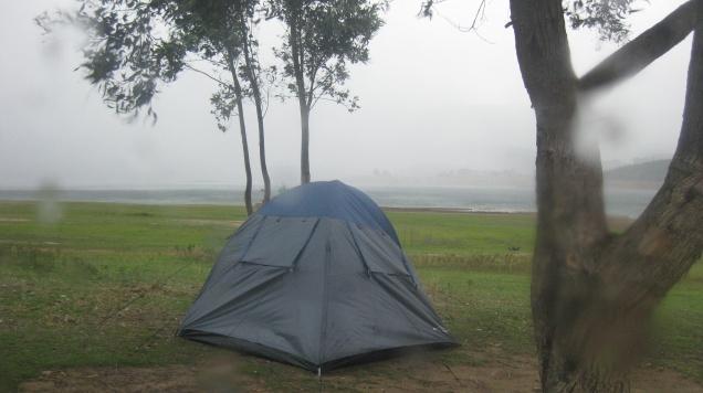 Storm tents...