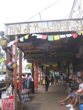 Nimbin's shops