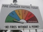 Fire Danger Five