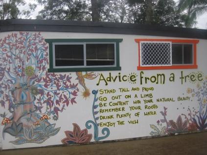 Advice from a tree on a Granny's Farm