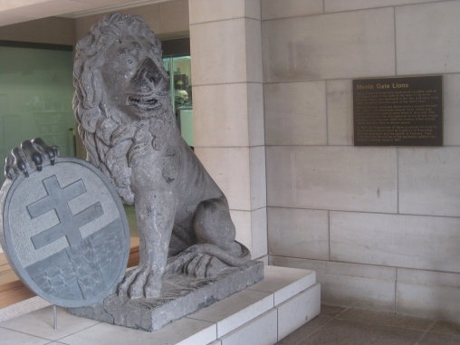 Menin Gate Lions