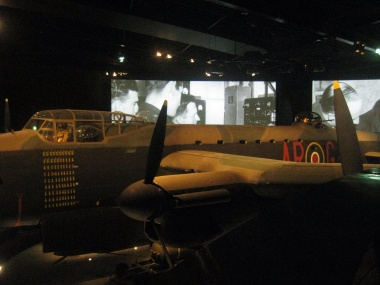 War planes at the War Memorial Museum