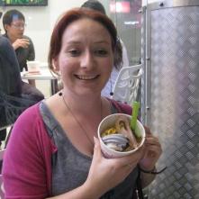 Me and frozen yoghurt