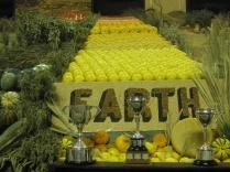 Regional produce displays