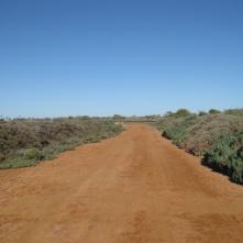 Red dirt roads...