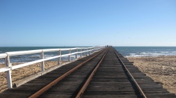 The mile long jetty