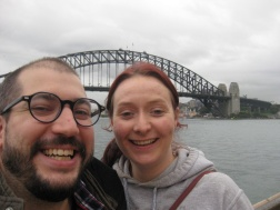 Me and Mauro after our tour of the Opera House