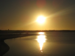 Sunset over Carnarvon
