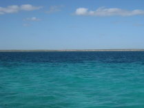 Coral Bay's waters