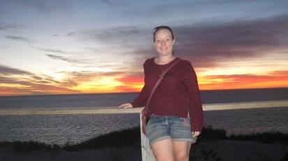 Sunset selfie's