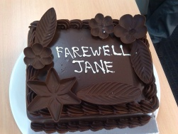 Goodbye cakes...