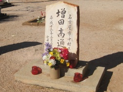 Flowers in the Japanese Cemetery