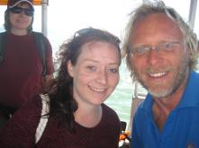 Me and Alec the skipper :)