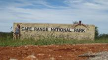 Cape Range timed selfies!