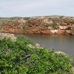 Yardie Creek rocks