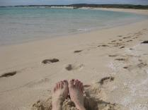 Sandy Bay feet