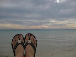 Turquoise Bay feet