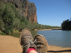 Windjana feet