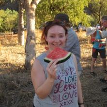 Slightly big piece of melon...!