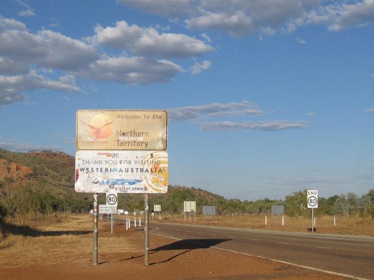The WA/NT border