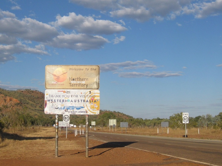 The WA/NT border