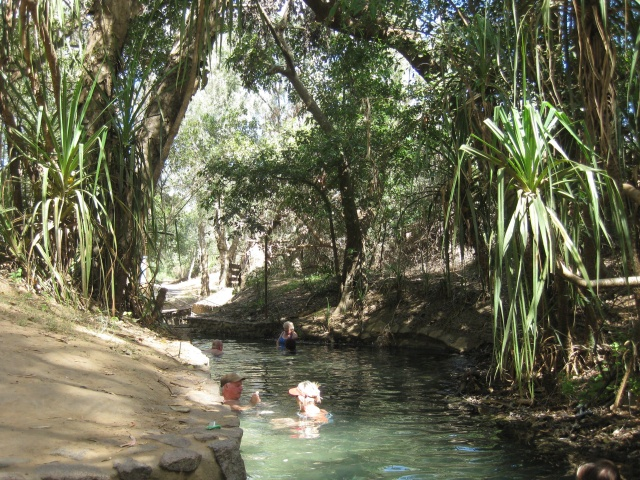 Katherine Hot Springs
