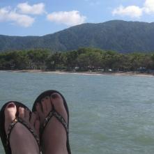 Feet at Palm Cove